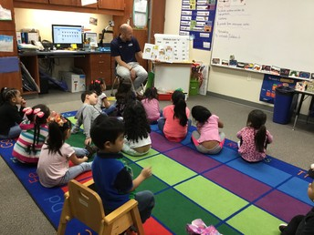 Mr. Arend read to our class!