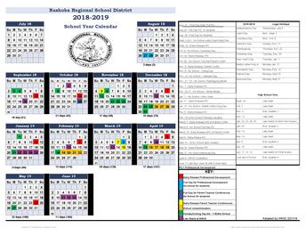 NRSD 2018-2019 Calendar