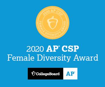 Escuelas Preparatorias Lancaster & Littlerock: Premio AP a la Diversidad Femenina en Informática