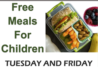 Lunch Pick Up: Tuesday and Friday