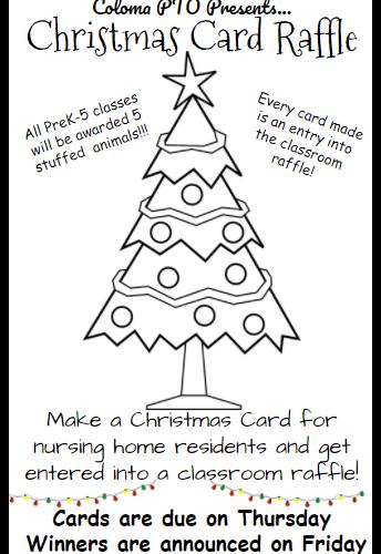 Christmas Card Raffle