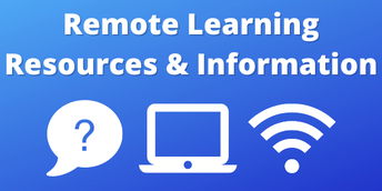 Parent Resources for Remote Learning