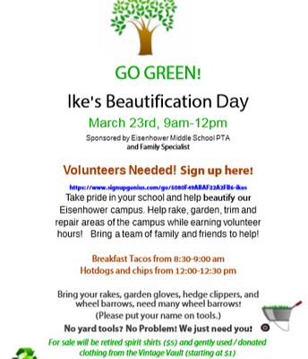 IKE's Beautification Day