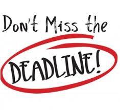 Reimbursement Deadline
