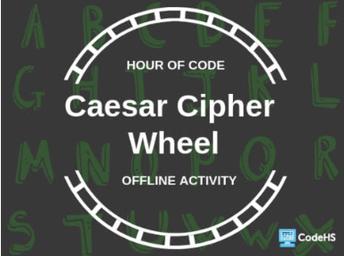 Ceasar Cipher Wheel