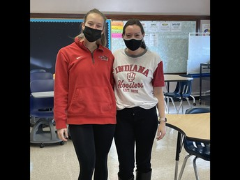 Ms. Conklin (Illinois State)  and Ms. Gasser (Indiana University)
