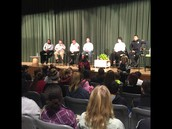 Panel for 7th grade guided inquiry on Taking a Stand