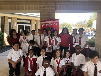 5th Grade Celebrates Mass with 29 Schools
