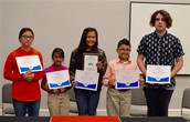 Three GISD Students Compete in Cooke County Spelling Bee