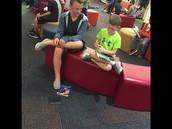 6th Grade Reading Buddies!