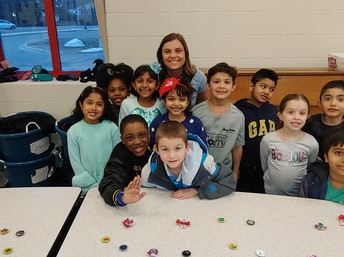 Ms. Culbert and her students