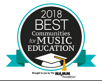 2018 NAMM Foundation Best Community for Music Education