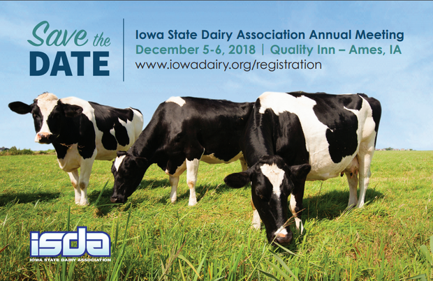 iowa dairy association annual meeting flyer