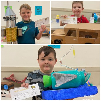 Recycled Art Contest Winners