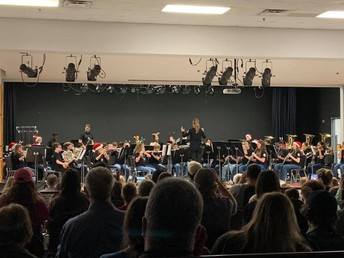 Crownover MS Band Winter Concert