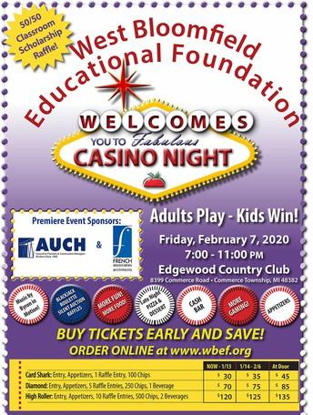 Casino Night Poster