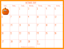 October Events: