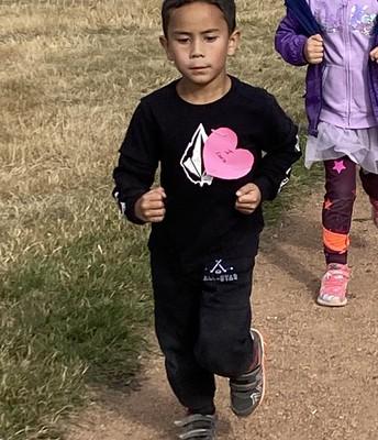 Terry Fox Run training session