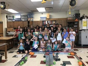Girl Scout STEM Event