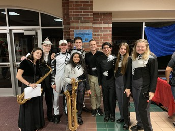 Can my student participate in band and other activities at Clear Creek HS?