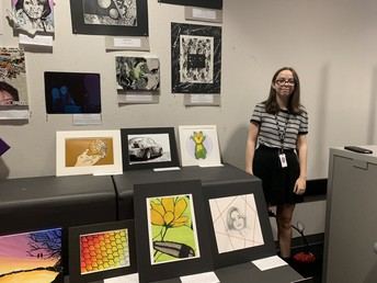 Honors Art 2 Exhibition