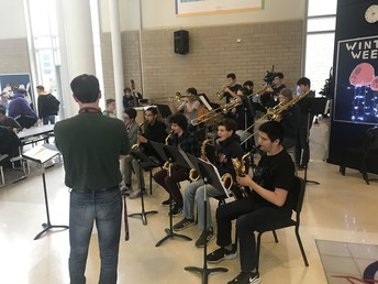 Jazz Band at Lunch