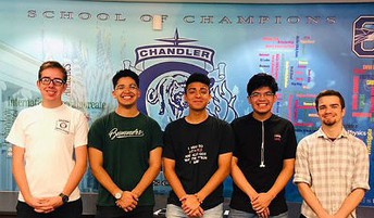 Chandler High National Hispanic Recognition Program Scholars
