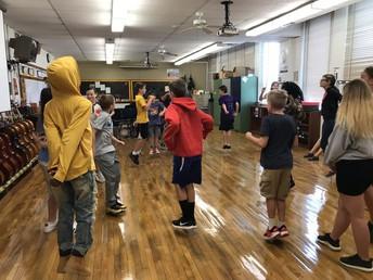 6th Graders Bunny Hop!