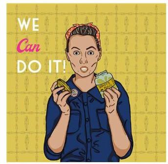 Helen Khoshnaw, We Can Do It! - Digital Art