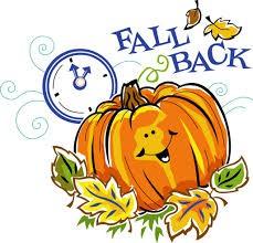 Fall Back, November 1st