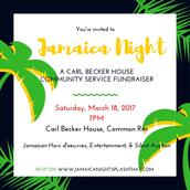 Jamaica Night @ Carl Becker House