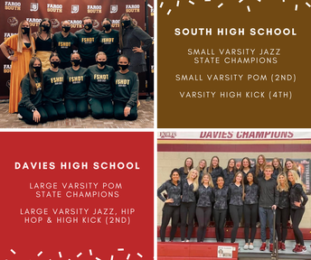 Davies & South Earn State Dance Titles