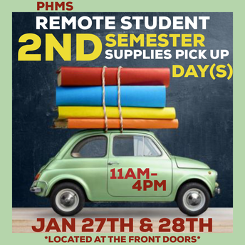 REMOTE STUDENT SUPPLIES PICK UP 1.27 & 28 (11-4)