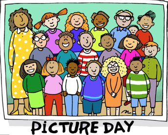 DON'T FORGET ... IT'S CLASS PICTURE DAY ON MONDAY