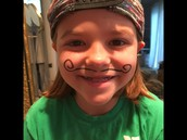 A Happy Little Leprechaun on Mustache Day!