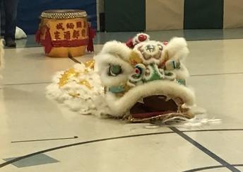 Golden Lion Dance