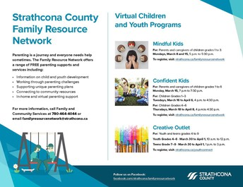 Virtual Children and Youth Programs