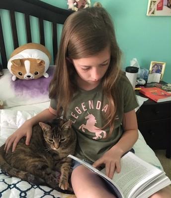 Ava & Cleo - Summer Reading!!