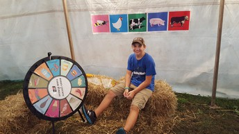 Spin the wheel at the fair!