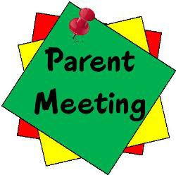 Save the Date- Parent Meeting