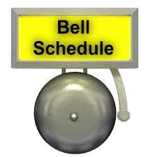 Bell Schedule First Week Back