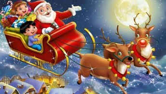 Elmet Lions Santa's sleigh