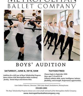 Ballet   Boys Audition