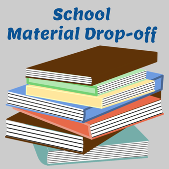 School Material Drop-off