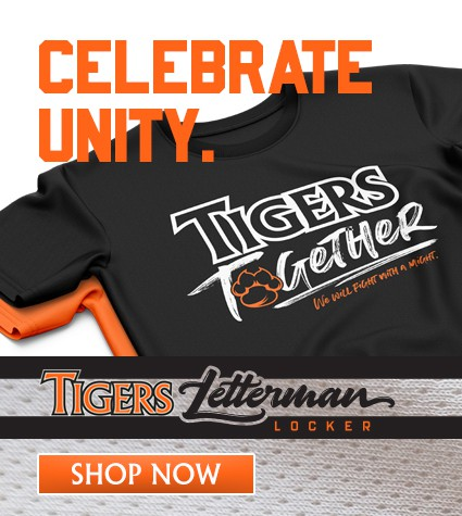 Celebrate Unity - Tigers Letterman Locker promo