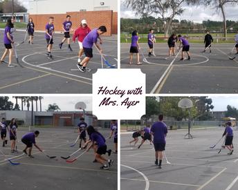 Hockey for PE