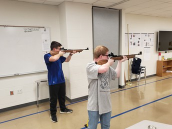 afjrotc cadets take aim