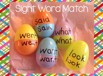Sight Word Match