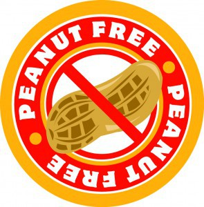 ALL FOOD ITEMS MUST BE NUT FREE