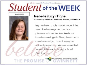 Isabelle (Izzy) Tighe